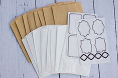 NEW CHA SUMMER *GIFT BAGGIES WITH STICKER SEALS* Fancy Pants Designs