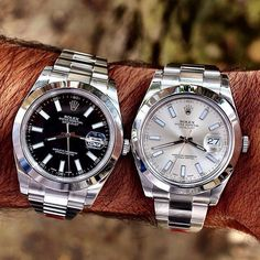 Which Rolex dial do you prefer? #thegmi #thegentlemansinc…