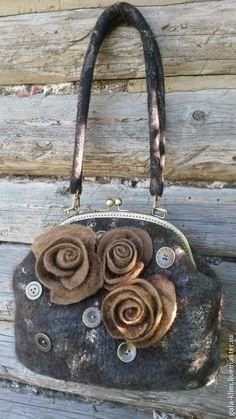 703753d53cdb Женские сумки ручной работы. SALE! Валяная сумка