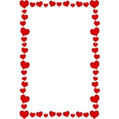 love heart border ❤ liked on Polyvore featuring frames, backgrounds, borders, hearts, red, fillers and picture frame