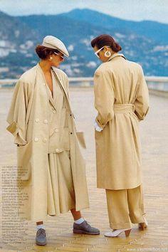 1985 Long Coats... I still dress like this.....