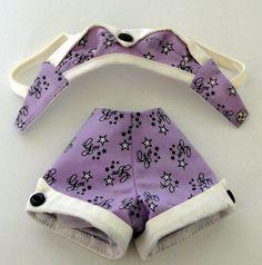 Simply Gene Marshall Purple Short Set Bathing Suit 2 Piece Only Ashton Drake #AshtonDrake #ClothingAccessories