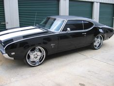 My first car was a 1969 Olds Cutlass - solid white and would go about 150 mph!