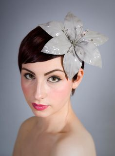 Crystal Tipped Lily | William Chambers Millinery | Spring/Summer 2011