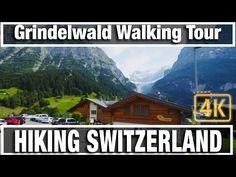 In City Walks: Hiking Switzerland Grindelwald - Virtual Walk Walking Treadmill Video we take a virtual walk tour along the streets of famous Grindelwald t. Virtual Museum Tours, Virtual Tour, Walking Treadmill, Walking Workouts, Grindelwald Switzerland, Alps Switzerland, Virtual Field Trips, Virtual Travel, Travel Videos