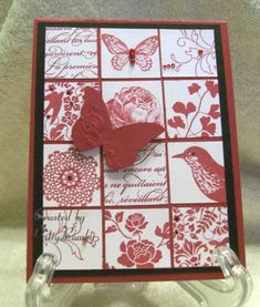 12/12/2012; pattyb - Cards at Splitcoaststampers using SU stamps