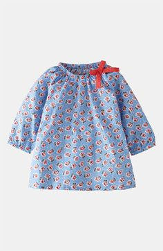 Mini Boden 'Pretty' Woven Top (Toddler, Little Girls & Big Girls) available at #Nordstrom