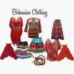 Bohemian Clothing: Bohemian Gypsy Trendy Clothing