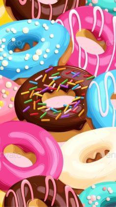Food Wallpaper, Free Iphone Wallpaper, Cute Wallpaper Backgrounds, Cellphone Wallpaper, Pretty Wallpapers, Girl Wallpaper, Disney Wallpaper, Cartoon Wallpaper, Pink Glitter Wallpaper