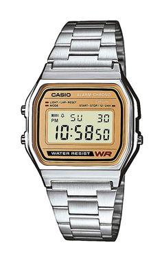 Casio Armbanduhr  A158WEA-9EF mit 100 Tagen Rückgabe und Tiefpreisgarantie für nur 34,90 EUR bei Uhren4You.de bestellen