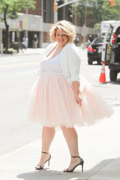 Plus Size Tutu - Blush (Sizes 1X - 6X)