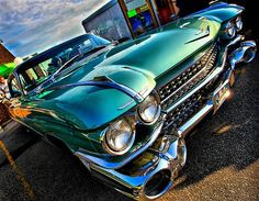Nice picture of a '59 Cadillac