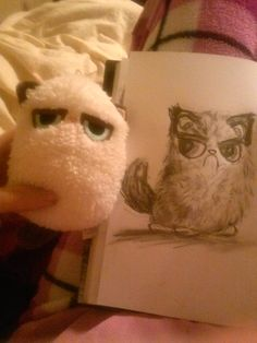 My rendition of Grumpy Cat.