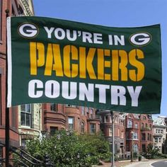 Green Bay Packers Green 3' x 5' Packers Country Flag