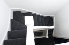Compact stair layout for loft