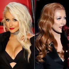 Christina Aguilera - Hair Transformation - 2
