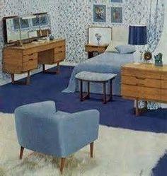 1960s Bedroom Furniture bedroom furniture 1960's inspiration decor 1801 design ideas
