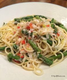 Crab Linguine is a classic pasta dish and perfect for this time of year when crab is in season
