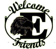 Eastern Michigan University Welcome E Friends by ReedCreekWelding, $20.00