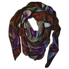 TERRA is one of the newest colors of PALME PASHMINA by PITSART.Pashimina modal and cashmere 140 cm x 140 cm.Hand finishing.100% Made in Italy