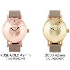 KLASSE14 アナログ腕時計 クラス14 Klasse14 VOLARE ゴールドメッシュ 36,42mm [海外正規(3) Color Names, Gold Watch, Rose Gold, Watches, Metal, Accessories, Clothes, Fashion, Wrist Watches