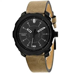 Shop for Diesel Men's Machinus Watches. Get free delivery On EVERYTHING* Overstock - Your Online Watches Store! Brown Band, Online Watch Store, Stainless Steel Case, Leather Case, Watches For Men, Men's Watches, Diesel, Jewelry Watches, Quartz