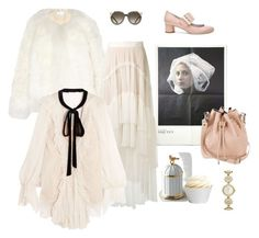 """""""Modern Times"""" by juliabachmann ❤ liked on Polyvore featuring Kate Spade, Chloé, Proenza Schouler, L'Objet, Lanvin and modern"""