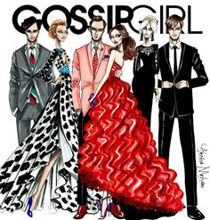 Resultado de imagen de gossip girl fan art