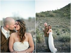 A breath-takingly beautiful elopement in the Arizona desert.