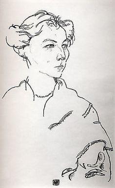 by Egon Schiele -1918