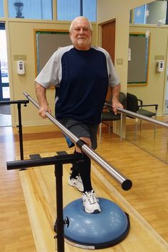 East Greenville resident Larry Mumbauer turned to Good Shepherd Physical Therapy to help recover from his knee replacement. Read how Nicole MacDonald, PTA, helped Larry get back on his feet - http://bit.ly/2meWXn6 #ChooseExperience #ChooseResults