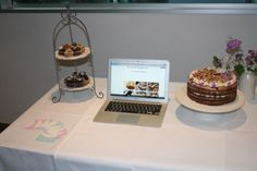 Expo day! Tart, Place Cards, Pudding, Place Card Holders, Cakes, Desserts, Food, Cake, Meal
