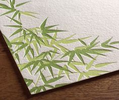 bamboo paper | Going Green With Wedding Invitations Bamboo Paper for Eco-Friendly ...