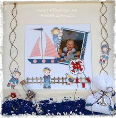 "Crafts & Pieces: Frosted designs "" Little Sailor"""