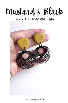 Yellow Earrings, Statement Earrings, Women's Earrings, Earrings Handmade, Handmade Jewelry, How To Clean Earrings, Modern Jewelry, Unique Jewelry, Great Mothers Day Gifts