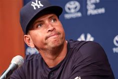 """Alex Rodriguez has a news conference before the Yankees play the White Sox at US Cellular Field in Chicago. Rodriguez said that he feels like he is """"fighting for his life"""" following the suspension announcement (Charles Cherney/AP)"""