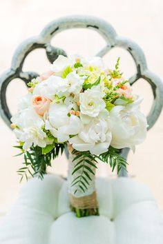 #bouquet  Photography: Emma Sharkey Photography - emmasharkey.com  Read More: http://www.stylemepretty.com/australia-weddings/south-australia-au/2014/01/21/rustic-chic-vineyard-wedding/