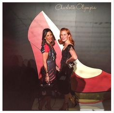 Charlotte Olympia and Kat Lebrasse wearing the World Collection cuff // Cristina Ramela Jewelry