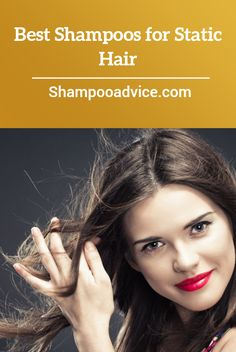 At the first sign of static hair, switch to a conditioner with silicone. You can keep your static hair shampoo Static Hair, Best Shampoos, Hair Shampoo, Health And Beauty, Rid, Conditioner, Shampoos
