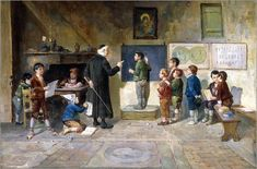paintings of classrooms - Google Search