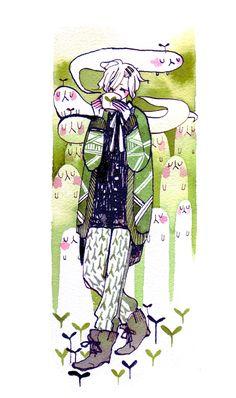 Tea and ghosts by koyamori on deviantART