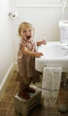 You know she wants to be a dentist!  #Dentist #Hygienist