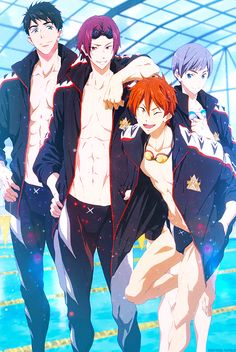 "soufrebi: "" ★ ☆ The Samezuka Boys ☆★ """