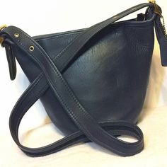 Coach vintage crossbody Vintage. Genuine. Authentic. Worn leather. Coach Bags Crossbody Bags
