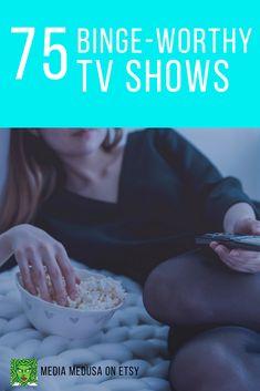 Check out the 75 BEST TV shows to BINGE WATCH. Award winners and crowd pleasers! #tv #bingewatching #bingewatch #primevideo #hulu #netflix #marvel #dccomics The Cw Tv Shows, Watch Tv Shows, Best Tv Shows, Movies And Tv Shows, Netflix Marvel, Marvel Movies, Jane The Virgin, American Gods, Buffy The Vampire Slayer