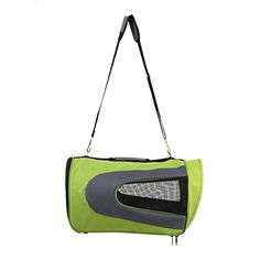 ProDeals® 17.7*10.2*10.6 Inch Portable Collapsible Pet Travel Bag Dog Carrier (Lime Green)/ Soft Waterproof Durable 600D PVC Fabric Kennel Dog House Pet Carrier/ Handbag Tote Bag for Cats and Dogs/ Pet Supplies/ Indoor Outdoor Pet Home/ Pet Car Seat Carr