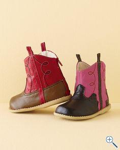 Livie & Luca Cowboy Boots, Sizes 04-13 - Garnet Hill  @Jessica Gravelle