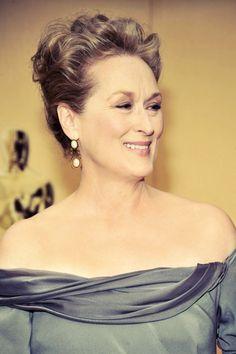 Meryl Streep pulls off any look, anywhere, anytime