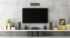 Image result for entertainment wall set up for no wires