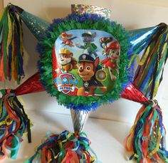 Paw Patrol Piñata Handcrafted by Theperfectpinata on Etsy https://www.etsy.com/listing/224124990/paw-patrol-pinata-handcrafted